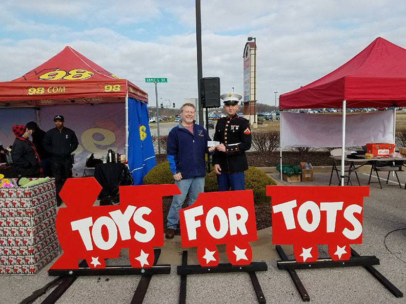 IPMS Gateway Toys for Tots Donation
