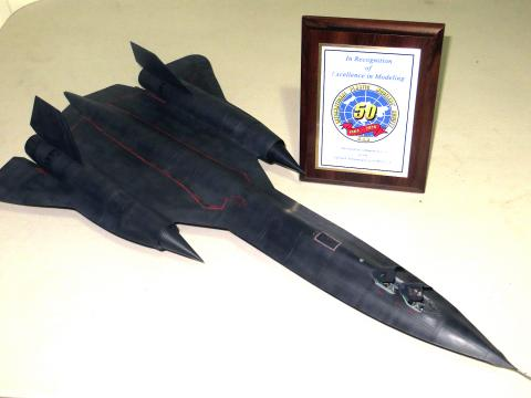 SR-71 Blackbird and Award